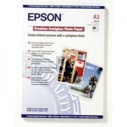 Original Epson Premium Semigloss Photo Paper DIN A3 weiß (C13S041334)