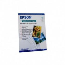 Original Epson Archival Matte Paper DIN A3 weiß (C13S041344)