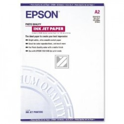 Original Epson Photo Quality Ink Jet Papier weiß (C13S041079)