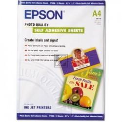 Original Epson Photo Quality Ink Jet Paper DIN A4 10 Seiten weiß (C13S041106)