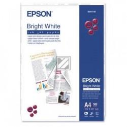 Original Epson Bright White Ink-Jet Paper DIN A4 500 Seiten weiß (C13S041749)