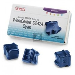 Original Xerox ColorStix cyan 3-er Pack (108R00660)