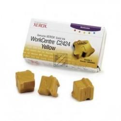 Original Xerox ColorStix gelb 3-er Pack (108R00662)