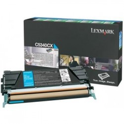 Original Lexmark Toner-Kartusche cyan High-Capacity plus (C5340CX)