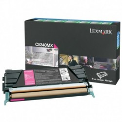 Original Lexmark Toner-Kartusche magenta High-Capacity plus (C5340MX)