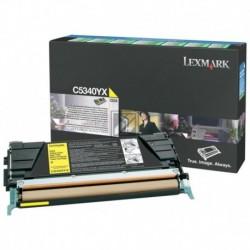 Original Lexmark Toner-Kartusche gelb High-Capacity plus (C5340YX)