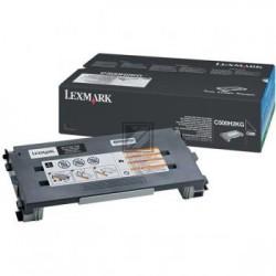 Original Lexmark Toner-Kartusche schwarz High-Capacity (C500H2KG)