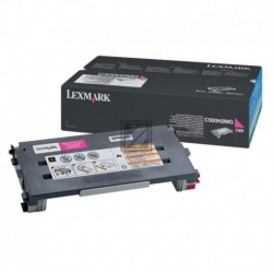 Original Lexmark Toner-Kartusche magenta High-Capacity (C500H2MG)