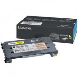Original Lexmark Toner-Kartusche gelb High-Capacity (C500H2YG)