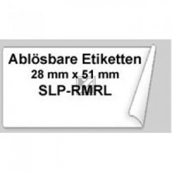 Original Seiko Adress-Etiketten weiß (SLP-RMRL)