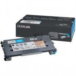 Original Lexmark Toner-Kartusche cyan High-Capacity (C500H2CG)