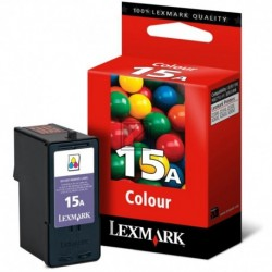 Original Lexmark Tintendruckkopf 3-farbig (18C2100E, 15 15A)