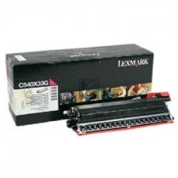 Original Lexmark Entwicklereinheit magenta (C540X33G)