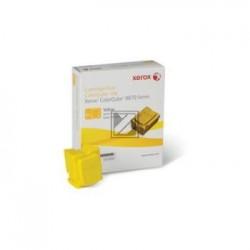 Original Xerox ColorStix gelb 6-er Pack (108R00956 108R00960)
