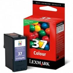 Original Lexmark Tintendruckkopf 3-farbig High-Capacity (018C2180E 18C2180E, 37XL 37XLRP)