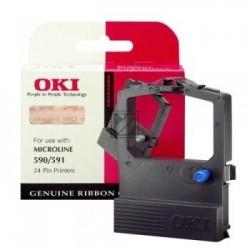 Original OKI Farbband Nylon Reink schwarz (09002316 1059010)