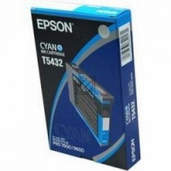 Original Epson Tintenpatrone cyan (C13T543200, T5432)