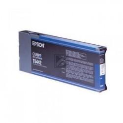 Original Epson Tintenpatrone cyan High-Capacity (C13T544200, T5442)