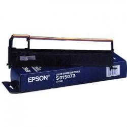 Original Epson Farbband Nylon schwarz/blau/rot/gelb (C13S015073)