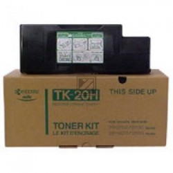 Original Kyocera Toner-Kit schwarz High-Capacity plus (37027020, TK-20H)