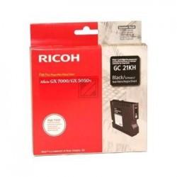 Original Ricoh Gel-Kartuschen schwarz High-Capacity (405536 405544 GC21BLKHY, GC21KH)
