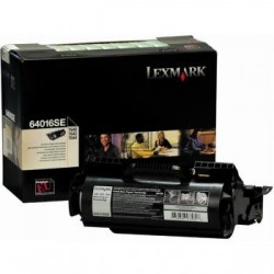 Original Lexmark Toner-Kartusche schwarz (64016SE)