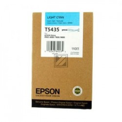Original Epson Tintenpatrone cyan light (C13T543500, T5435)