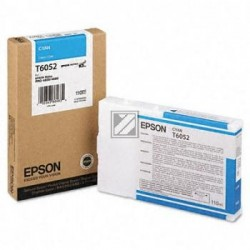 Original Epson Tintenpatrone Ultra Chrome K3 cyan (C13T605200, T6052)