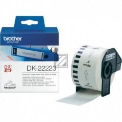 Original Brother Endlos-Etikett weiß (DK22223)