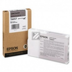 Original Epson Tintenpatrone Ultra Chrome K3 schwarz light (C13T605700, T6057)