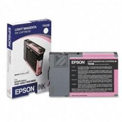 Original Epson Tintenpatrone magenta light (C13T543600, T5436)