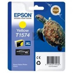Original Epson Tintenpatrone gelb (C13T15744010, T1574)