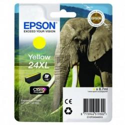 Original Epson Tintenpatrone gelb High-Capacity (C13T24344010, T2434)
